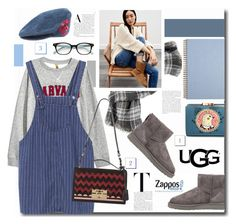 """""""The Icon Perfected: UGG Classic II Contest Entry"""" by kts-desilva ❤ liked on Polyvore featuring Wilsons Leather, UGG Australia, Salvatore Ferragamo, UGG, Dolce&Gabbana, Kate Spade, ugg and contestentry"""