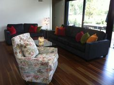 Custom sofas and chair