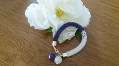 Beaded crochet bracelets