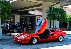 Only countach: Photo Lamborghini Pictures, Lamborghini Cars, Mercedes Benz Sls, Fancy Cars, Top Cars, Custom Trucks, Travel Style, Luxury Cars, Dream Cars