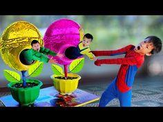 Gummy bear eating colored corn lollipop   Finger Family - YouTube