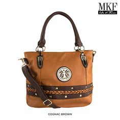 MKF Collection Panettone Multi-Pocket Shopper Tote - Assorted Colors at 80% Savings off Retail!