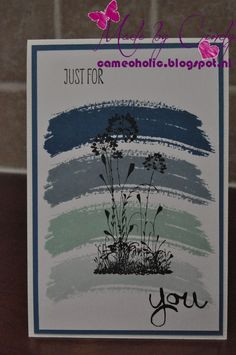 Stampin' Up Work of Art & Serene Silhouettes