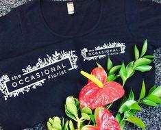 Branding uniform for The Occasional Florist by CIP Design Studio