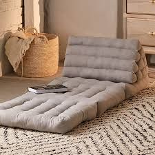 The Best Floor Pillows on the Market   Style & Living Big Floor Pillows, Round Floor Pillow, Floor Cushions, Convertible Furniture, Convertible Bed, Small Apartment Furniture, Space Saving Furniture, Reema Floor Cushion, Tiny Apartments