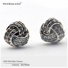 Infinite Love Crystal Stone Earrings For Women 2016 New Fashion Original 925-Sterling-Silver Stud Earrings Hot Charm Jewelry