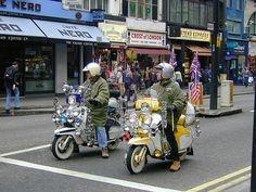 Scooters, London