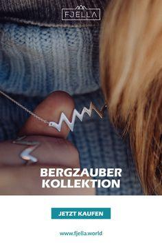 Elegant und bergig erinnert dich die Bergzauber Kette jeden Tag an die schönsten Momente in den Bergen: ob Skitour, Gipfelglück, Weitwanderung oder Hüttenabend.  Made in Germany aus 925 Silber, wahlweise hochwertig vergoldet.    #bergschmuck #schmuck #geschenk #Geschenkidee     Schmuck, Berge, Bergschmuck, Kette, Silberkette, Halskette, Silberschmuck, Wanderoutfit, Geschenk, Weihnachten, Geburtstag, Alpen, Valentinstag Schmuck Design, Bergen, Arrow Necklace, Elegant, Jewelry, Silver Decorations, Alps, Fashion Jewelry, Valentines