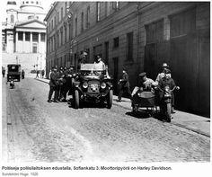Police officers - Helsinki, Poliisipartio 1926 Photo: FINNA