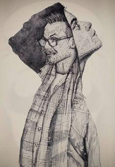 Mr Robot Giclee Print of pencil drawing Mr Robot Poster, Drawing Sketches, Pencil Drawings, Robot Tv, Robot Tattoo, Robot Sketch, Christian Slater, Pretty Art, Giclee Print