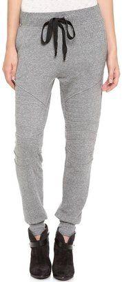 Current/Elliott - The Moto Sweatpants #15Things #fashion #style #trending #sweatpants #cinched #CurrentElliott