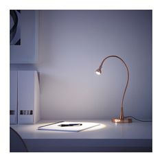 JANSJÖ LED work lamp - copper color - IKEA