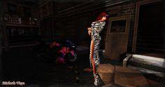 Ride Sally Ride - Roadtrip 2 Location: Vixen's Creative Studios Photographer & Model: Michaela Vixen Set Design & Creation: Michaela Vixen Vixen's Log - More Info & Credits Here