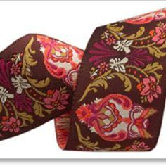Tula Pink - Tula Pink Ribbons - Full Moon Owls in Pink