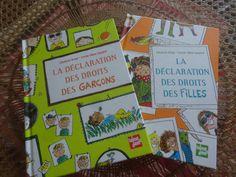 Deux livres pour lutter contre les stéréotypes garçon/fille