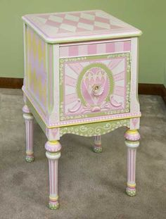 girls end table
