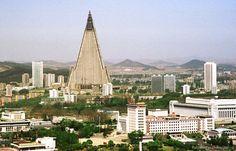Рюгён - чудо и проклятье Северной Кореи, самая высокая гостиница в мире