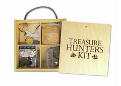 The Treasure Hunter's Kit provides everything she needs to explore Neverland, or just the backyard.