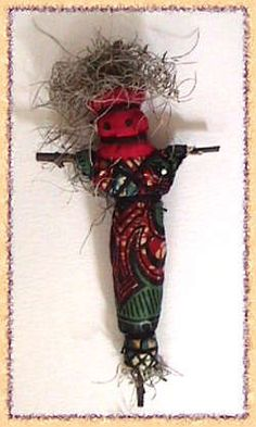 In New Orleans, we use Voodoo Dolls as focusing tools - they help us to enrich our lives with Love, Prosperity, Good Health and many other positive influences.