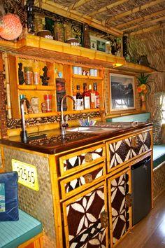 Tiki camper kitchen