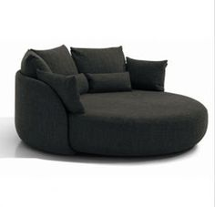 I sat in one of these once, and was instantly, madly in love. It's a perfect fit for 2 people, and the shape is so perfect for lounging/reading/cuddling. I've been searching for one for the better part of a year!