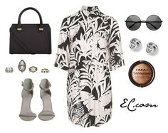 Miercoles Witch July by erick-cortgar on Polyvore featuring moda, Topshop, Victoria Beckham, FOSSIL and LORAC