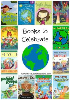 Earth Day shouldn't happen just one day a year.  Here is an amazing collection of books and activities for kids to learn about the Earth.  Great for Earth Day. Great for Every Day Reading!