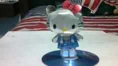 Hello Kitty de latas de aluminio tutorial