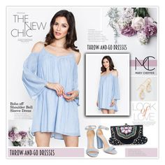 """Easy Peasy: Throw-and-Go Dresses"" by mcheffer ❤ liked on Polyvore featuring Vince and easypeasy"