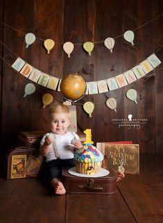 Disney up themed cake smash 1st Birthday Cake Smash, Baby Boy Birthday, Disney Birthday, First Birthday Parties, First Birthdays, Birthday Ideas, Disney Up Cake, Disney Themed Cakes, Twin Cake Smash