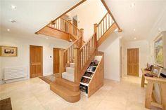 clever stairs storage #ideas #underthestairs