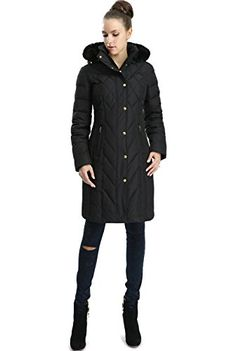 BGSD Womens Addi Missy  Plus Size Waterproof Down Parka Coat  Black 2X -- For more information, visit image link.