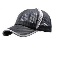 48a99fefd2b Womens Mens Quick Drying Mesh Baseball Cap Summer Cool Breathable  Lightweight Anti UV Sun Protection Hat