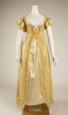 Ball Gown: 1811, British.