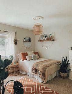 Room Ideas Bedroom, Home Decor Bedroom, Bedroom Inspo, Cute Room Decor, Boho Room, Aesthetic Room Decor, Dream Rooms, Room Inspiration, Crib