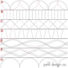 (Day 27 of a 31 Day  Series)  Today I decided to share some ideas for quilting borders. Not every quit is going to look great with an all ov...