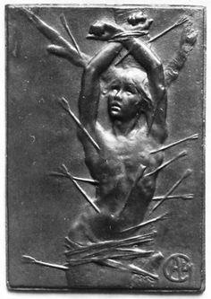 Alexandre Charpentie, Martydom of Saint Sebastian, c. 1897