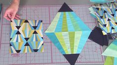 Magic Triangle block on Fresh Quilting - YouTube
