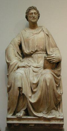 Nanni di Banco - San Luca - 1408-1413 - Museo dell'Opera del Duomo, Firenze