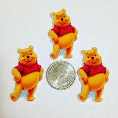 Cartoon Bear Planar Resin Cabochons
