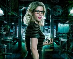 Hey! I'm Felicity Smoak. I'm a tech genius, wait no, goddess. Tech Goddess. I like the sound of that. Anyway, I work at Palmer Tech. and I also help Team Arrow (That's a good name for us) with missions. My superhero name is, (Thank you Oliver) Overwatch. So, come talk to me!