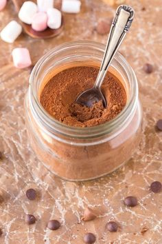 Healthy Homemade Sugar Free Hot Chocolate Mix (Paleo, Vegan, Gluten Free)- THREE Ingredients and SO easy- Just add water or milk!