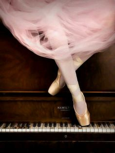 Ballet and piano...two things I love together