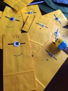 Minion goodie bags