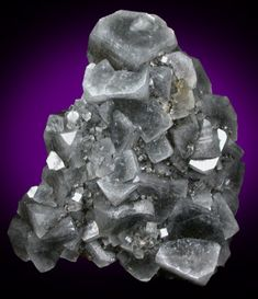 Apophyllite, Gaspe Copper Company Mine, Murdochville, Gaspe Peninsula, Quebec, Canada. Size: 4.5x4.2x1.5 cm
