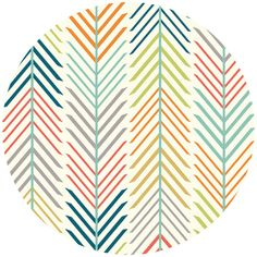 Tissu coton Quills Creem x 10 cm Fabric Design, Pattern Design, Fabric Art, Geometric Arrow, Wooden Teething Ring, Shops, Modern Fabric, Haberdashery, Couture