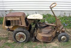 1965 Simplicity riding mower. Simplicity Tractors, Leather Rifle Sling, Tractor Pictures, Riding Lawn Mowers, Lawn Furniture, Old Tractors, Old Tv Shows, Cool Technology, Lawn And Garden