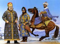 Alexius Apokaukos, megas doux of the Eastern Roman Empire. Angus McBride