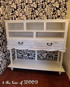 4 the love of wood: HOW TO MAKE A DRESSER 2ft TALLER - cottage country cabinet