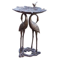 Wilson Fisher Solar Stained Glass Bird Bath At Big Lots Feed The Bi